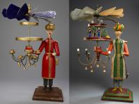 candlestick turk with pyramid