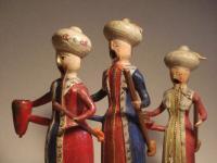Räuchermänner als Türken