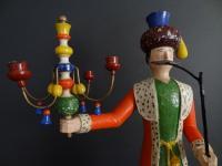 candlestick turk with spider chandelier
