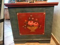 Biedermeier-style wedding chest