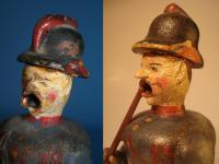 smoker as a firefighter