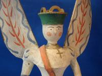 pyramid-angel with two propellers
